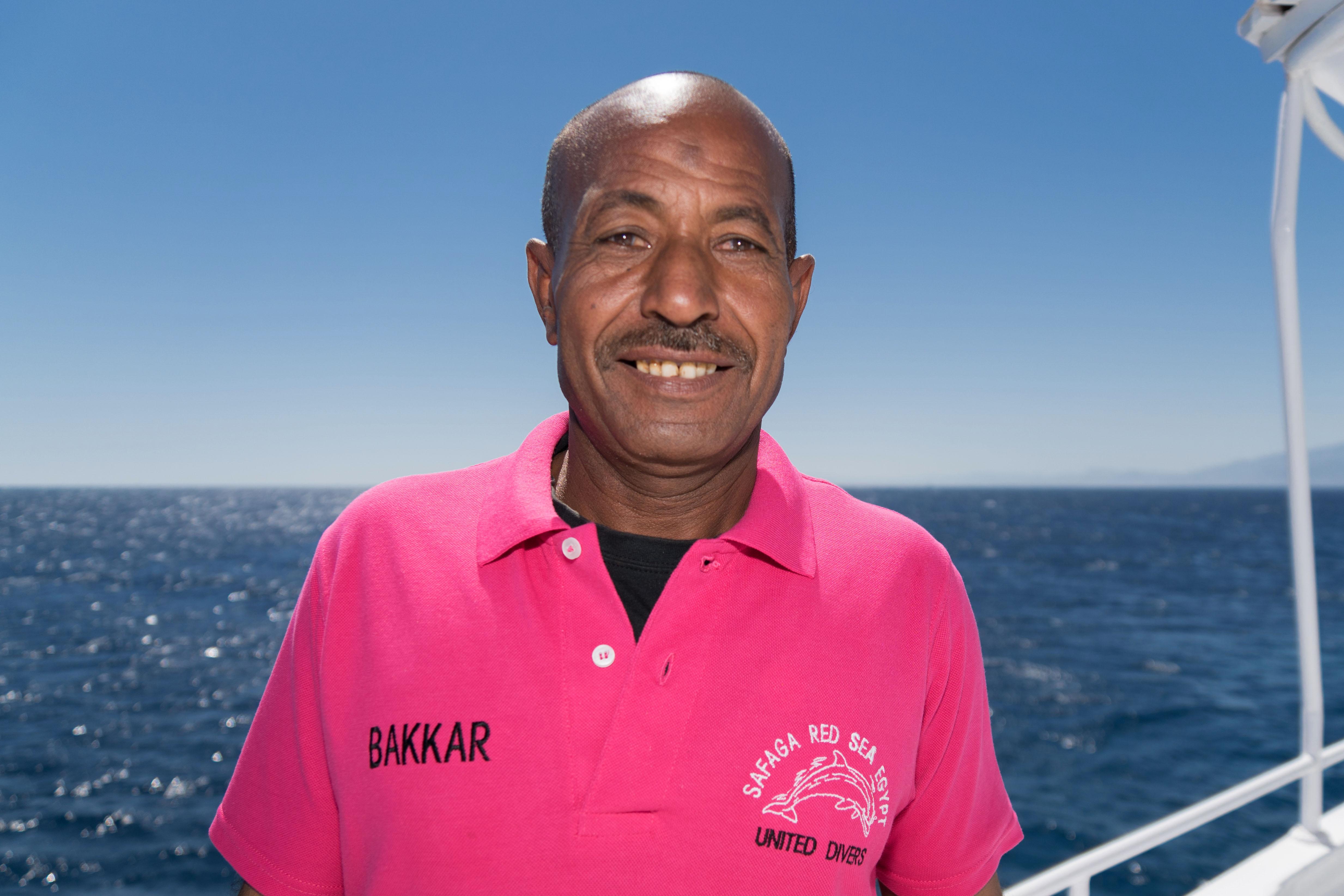 Bakkar Cuisinier sur le Compass de United Divers Egypt Safaga