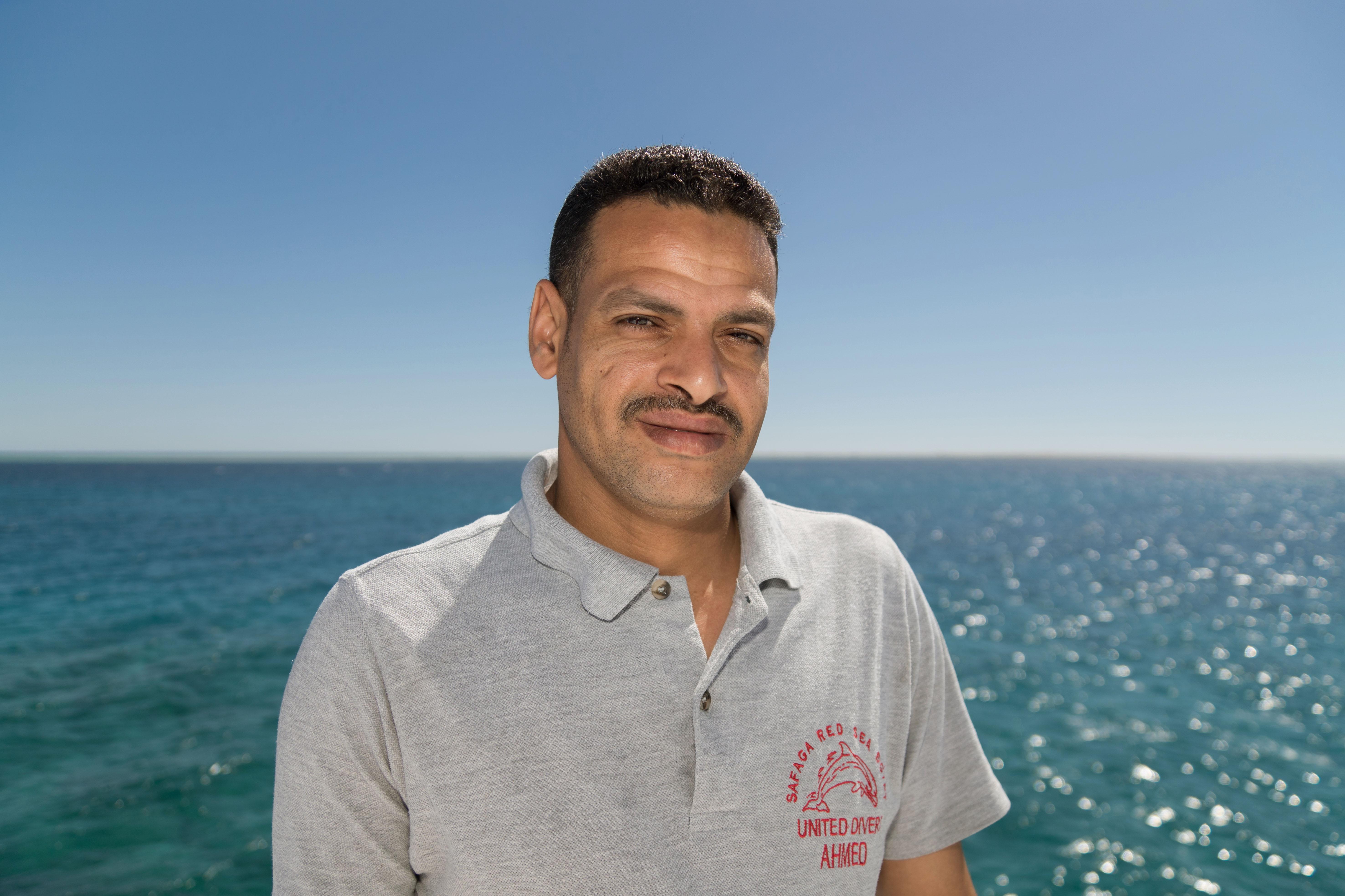 Ahmed Service de chambre et restauration à bord du Compass chez United Divers Egypt Safaga