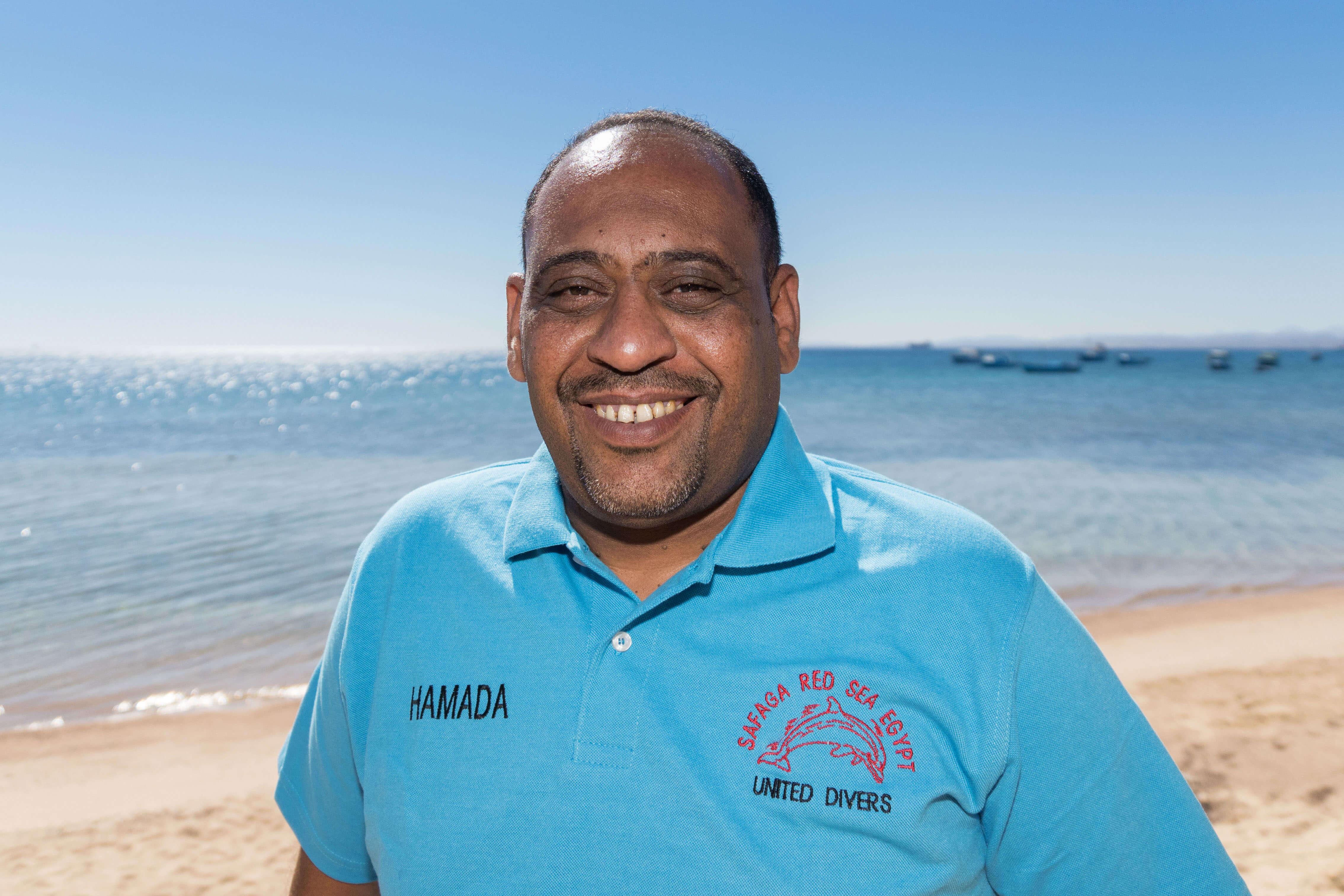 Hamada Responsable de United Divers Egypt Safaga