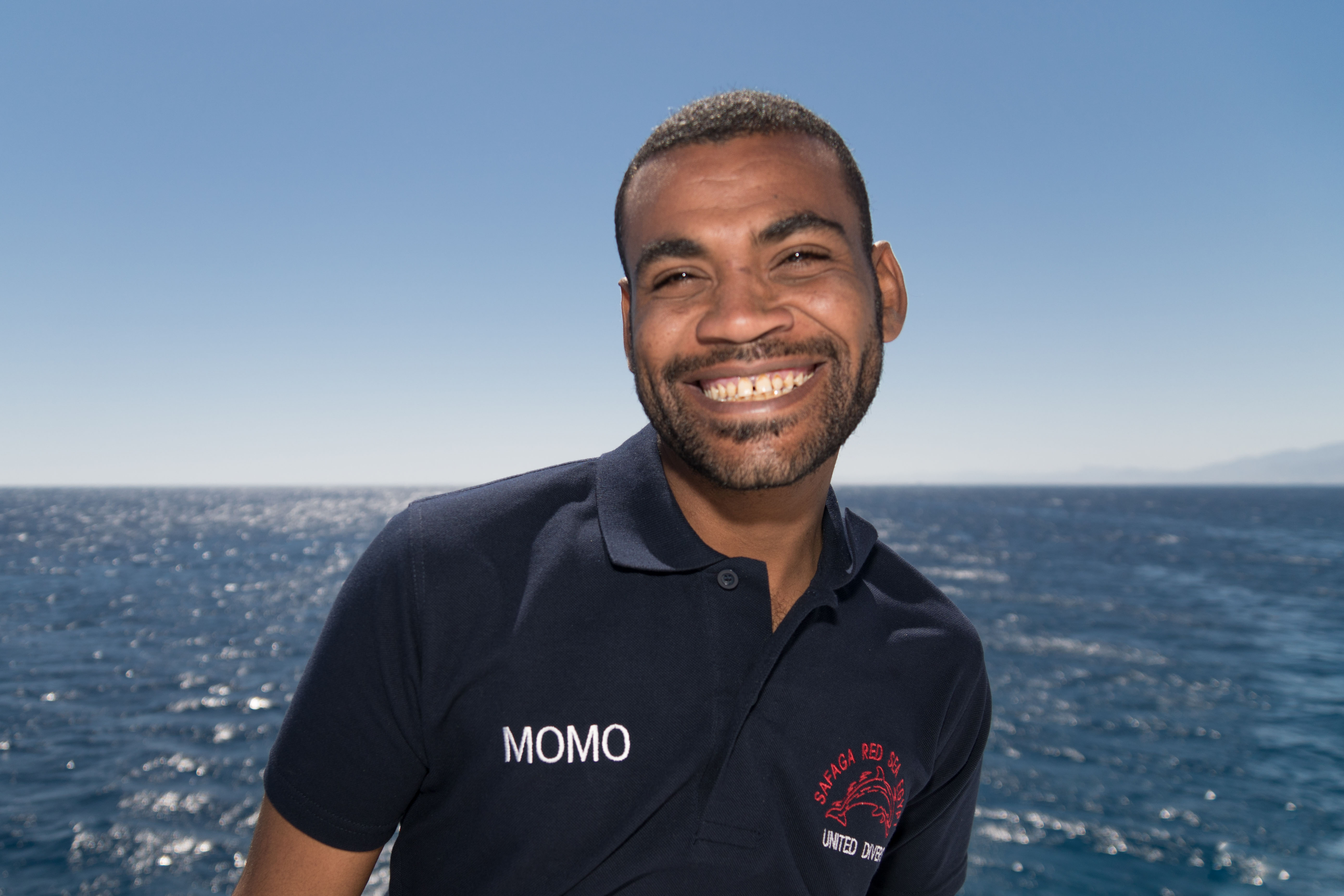 Momo Guide chez United Divers Egypt Safaga