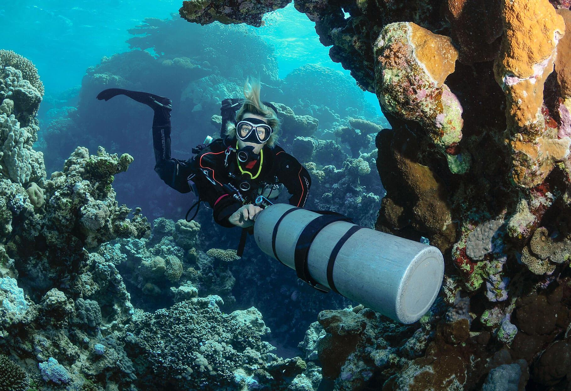 United Divers Egypt Safaga Formation Sidemount