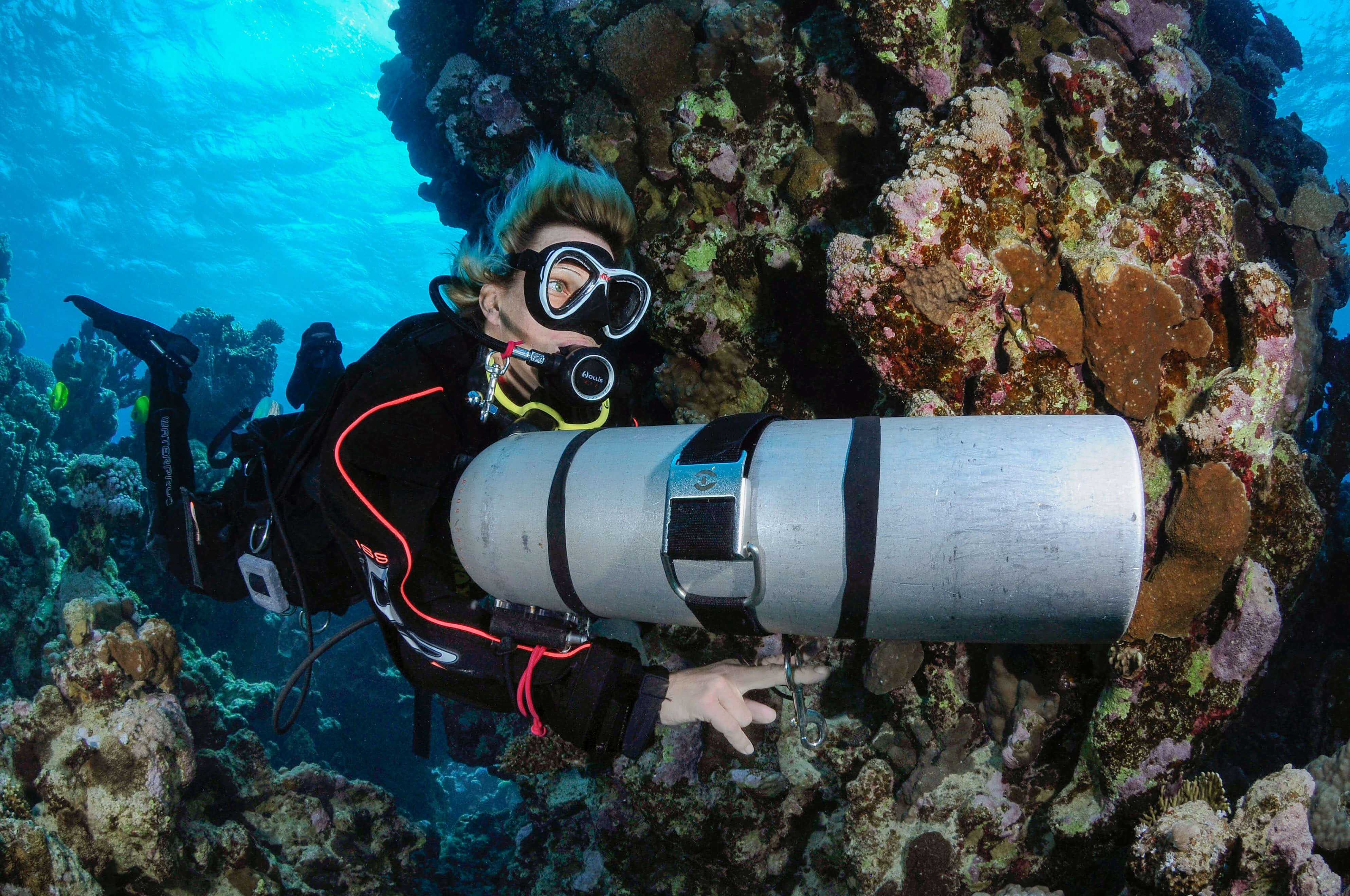 United Divers Egypt Safaga Formation Sidemount