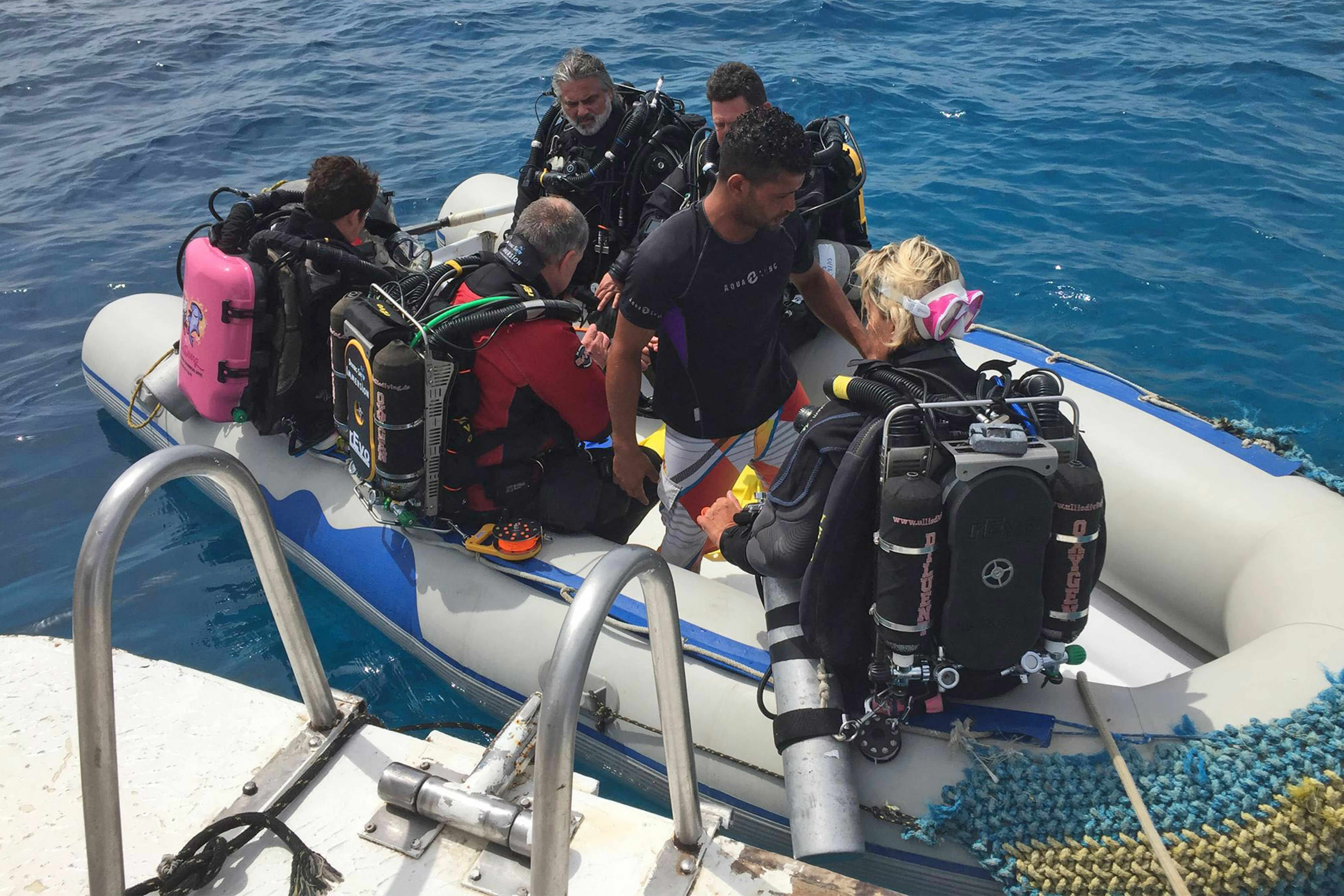United Divers Egypt Safaga Zodiaque du Compass