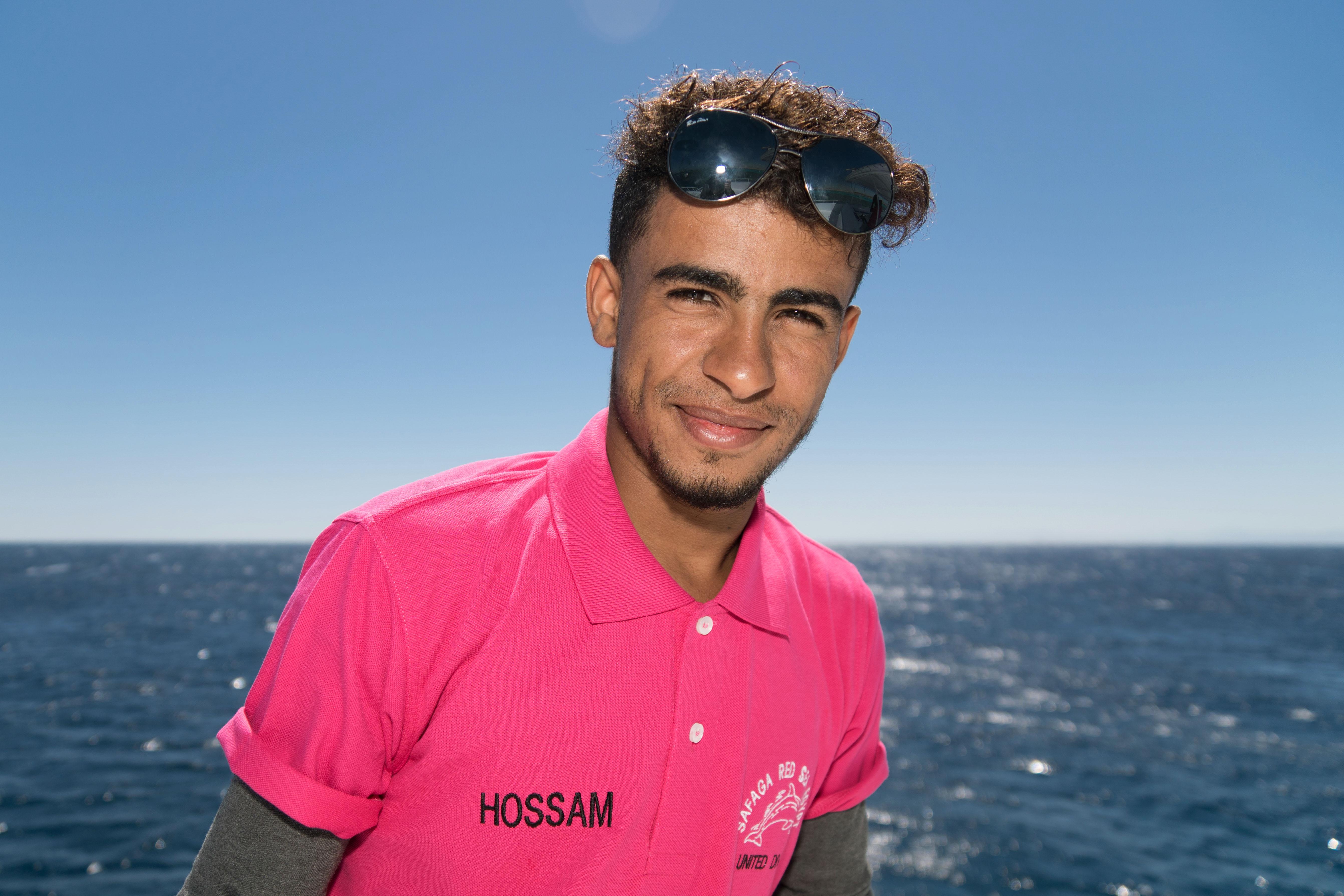 Hossam Marin sur le Compass de United Divers Egypt Safaga