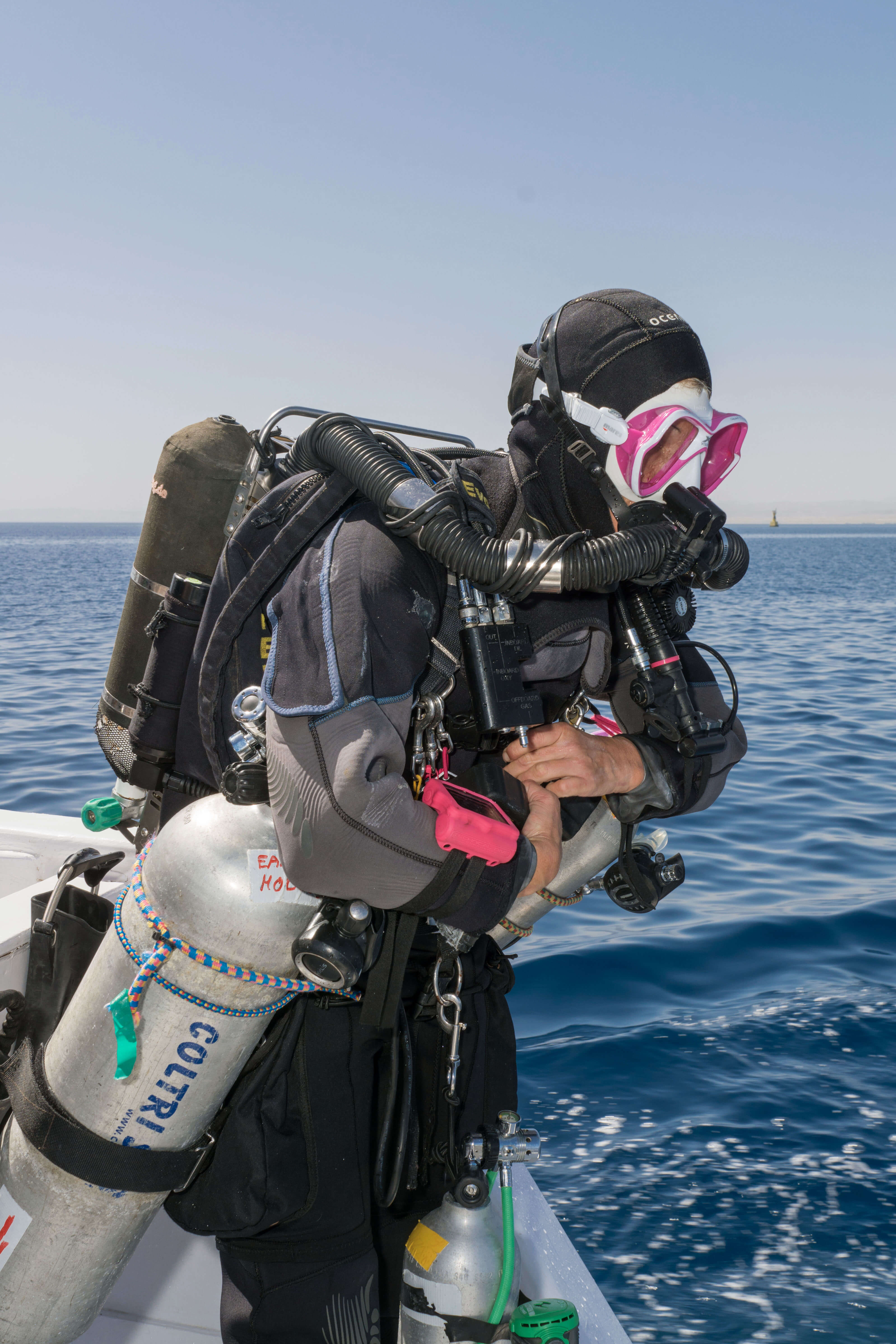 United Divers Egypt Safaga Formation TECH Trimix